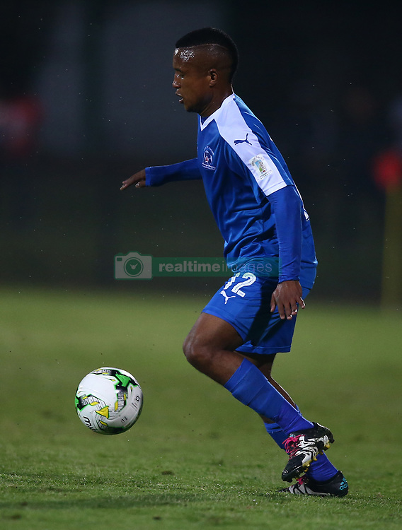 Sheldon van Wyk of Maritzburg Utd during the 2016 Premier Soccer League match between Maritzburg Utd and SuperSport United held at the Harry Gwala Stadium in Pietermaritzburg, South Africa on the 21st September 2016<br /> <br /> Photo by:   Steve Haag / Real Time Images