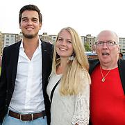 NLD/Amsterdam/20120813 - Premiere Sensations van Circus Herman Renz, Harry Slinger en dochter en schoonzoon