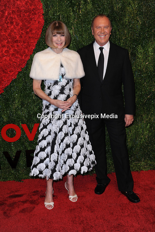 Oct. 15, 2015 - New York, NY, USA - <br /> <br /> Anna Wintour and Michael Kors attending the 2015 God's Love WE Deliver Golden Heart Awards at Spring Studios on October 15, 2015 in New York City<br /> ©Exclusivepix Media