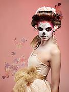 Model: Tia Guzzo.Makeup: Jennifer Ruth.Hair Styling: Rhi Yee.Fashion stylist: Jihan Amer.Set decorator: Guen Gianfranchi.Photography: Lloyd K. Barnes