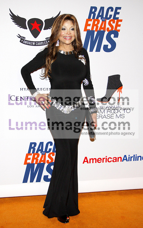 La Toya Jackson at the 19th Annual Race To Erase MS held at the Hyatt Regency Century Plaza in Century City, USA on May 18, 2012.