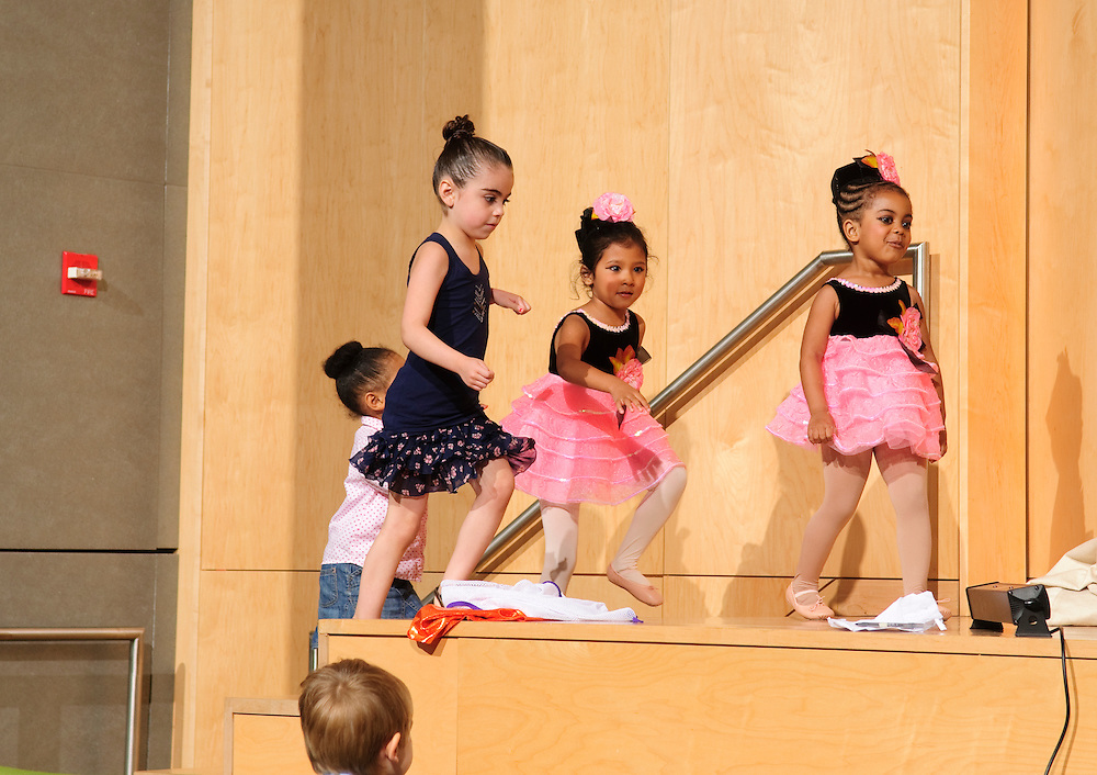 (photo by Matt Roth).Friday, June 18, 2010..Inertia Performing Arts' Spring Concert at MICA's Falvey Hall in the Brown Center...Tomorrow's Child Mini Movers, Charles Plaza Mini Movers