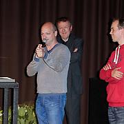 NLD/Hilversum/20120606 -Uitreiking Nipkowschrijf 2012, De Zwarte Lijst wint de Eervolle vermelding 2012