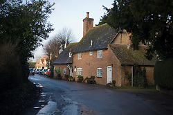 © under license to London News Pictures.  08/02/2011. Royal Wedding background picture. The town of Bucklebury, West Berkshire UK, home to the future Queen of England Kate Middleton, who will marry Prince William on Friday 29 April at Westminster Abbey. Photo credit should read: London News Pictures