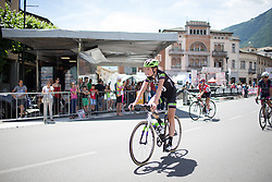 Riejanne Markus (NED) of Liv-Plantur Cycling Team finishes the Giro Rosa 2016 - Stage 5. A 77.5 km road race from Grosio to Tirano, Italy on July 6th 2016.