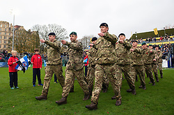 Members of the Armed Forces - Mandatory byline: Patrick Khachfe/JMP - 07966 386802 - 09/11/2019 - RUGBY UNION - The Recreation Ground - Bath, England - Bath Rugby v Northampton Saints - Gallagher Premiership