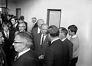 17/09/1968<br /> 09/17/1968<br /> 17 September 1968<br /> Manchester United arrive at Dublin Airport. Matt Busby, United's manager in the Airport.