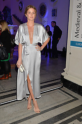 MILLIE MACKINTOSH at a private view of Alexander McQueen's Savage Beauty exhibition hosted by Samsung BlueHouse at the V&A, London on 30th March 2015.