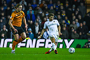 Leeds United defender Gaetano Berardi (28) passes the ball during the EFL Sky Bet Championship match between Leeds United and Hull City at Elland Road, Leeds, England on 10 December 2019.