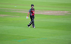 Jim Allenby of Somerset walks off after being dismissed.  - Mandatory by-line: Alex Davidson/JMP - 29/08/2016 - CRICKET - Edgbaston - Birmingham, United Kingdom - Warwickshire v Somerset - Royal London One Day Cup semi final