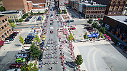 Decatur Celebration Parade - Aerial