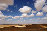 Israel, Negev, Moshav Tzofar, Landscape
