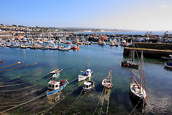 UK CORNWALL NEWLYN 10JUN08 - General view of Newlyn harbour in Cornwall, western England...jre/Photo by Jiri Rezac / WWF UK..© Jiri Rezac 2008..Contact: +44 (0) 7050 110 417.Mobile:  +44 (0) 7801 337 683.Office:  +44 (0) 20 8968 9635..Email:   jiri@jirirezac.com.Web:    www.jirirezac.com..© All images Jiri Rezac 2008 - All rights reserved.