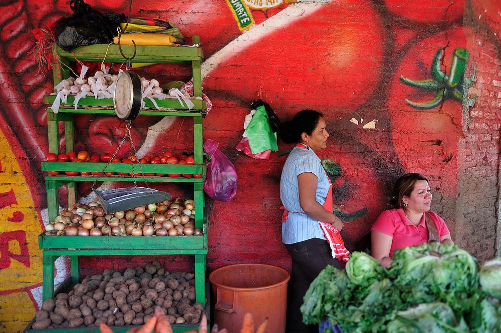 Market,Esteli, Nicaragua, Central America