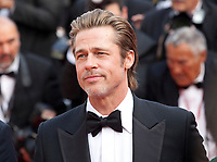Actor Brad Pitt at the Once Upon A Time... In Holywood gala screening at the 72nd Cannes Film Festival Tuesday 21st May 2019, Cannes, France. Photo credit: Doreen Kennedy