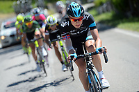 BOASSON HAGEN Edvald (NOR) in action during the 8th stage of the 97th Giro d'Italia 2014, Tour of Italy, cycling race from Foligno to Montecopiolo (179Km) on May 17, 2014 Photo Tim de Waele / DPPI