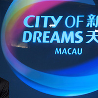 MACAU, CHINA - JUNE 01:  President of 'City of Dreams' casino Greg Hawkins attends a news conference at the opening of businessman James Packer and Lawrence Ho's 'City of Dreams' casino on June 1, 2009 in Cotai, Macau. The new 420,000 square foot casino, built on marshland 9km from Macao's traditional casino district but over the road from the world's largest casino 'Sands Venetian Macao', hopes to lure customers to the new casino area. 'City of Dreams' will offer over 500 gambling tables alongside its 3 hotels, a shopping mall and digital fish which swim in an electronic aquarium know as 'The Bubble'.  Photo by Victor Fraile / studioEAST