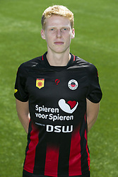 Jerdy Schouten during the team presentation of Excelsior Rotterdam on July 13, 2018 at the Van Donge & De Roo stadium in Rotterdam, The Netherlands