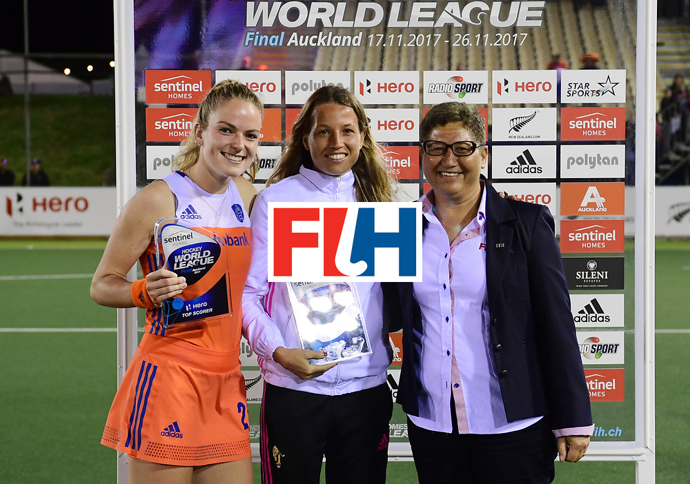 AUCKLAND - Sentinel Hockey World League final women<br /> Match id:10322<br /> 22 NED v NZL (Final)<br /> Foto: <br /> <br /> WORLDSPORTPICS COPYRIGHT FRANK UIJLENBROEK