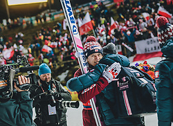 18.01.2020, Hochfirstschanze, Titisee Neustadt, GER, FIS Weltcup Ski Sprung, im Bild Sieger Dawid Kubacki (POL), Adam Malysz // Winner Dawid Kubacki of Poland Adam Malysz during the FIS Ski Jumping World Cup at the Hochfirstschanze in Titisee Neustadt, Germany on 2020/01/18. EXPA Pictures © 2020, PhotoCredit: EXPA/ JFK