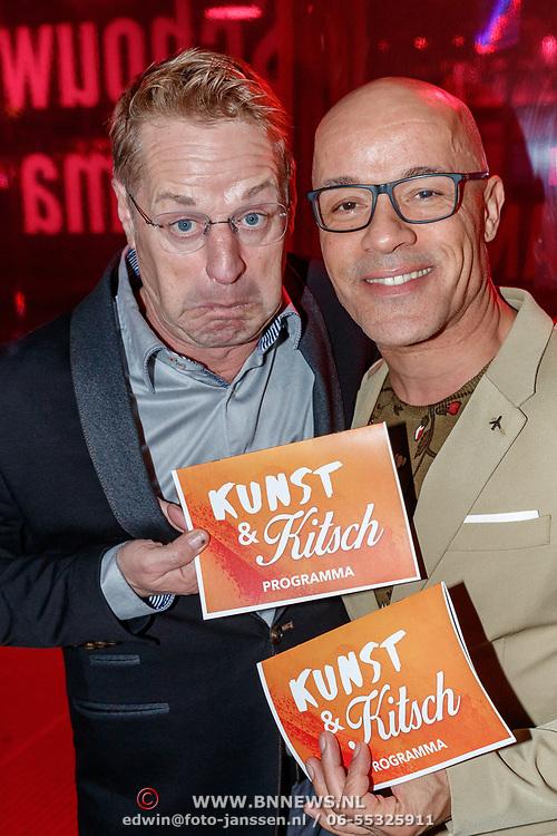 NLD/Amstelveen/20180924 - Toneelstuk Kunst & Kitsch premiere, Tony Neef en Stanley Burleson