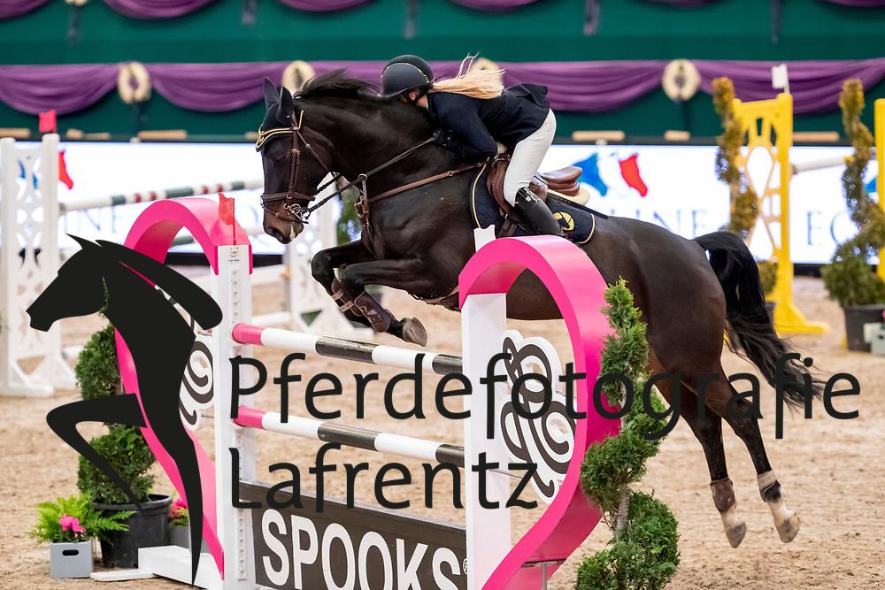 GIBSON Kimberley Alexandra (GER), Dree Boeken's Diarados Roesche<br /> Leipzig - Partner Pferd 2019<br /> SPOOKS-Amateur Trophy<br /> Large Tour<br /> 17. Januar 2019<br /> © www.sportfotos-lafrentz.de/Stefan Lafrentz