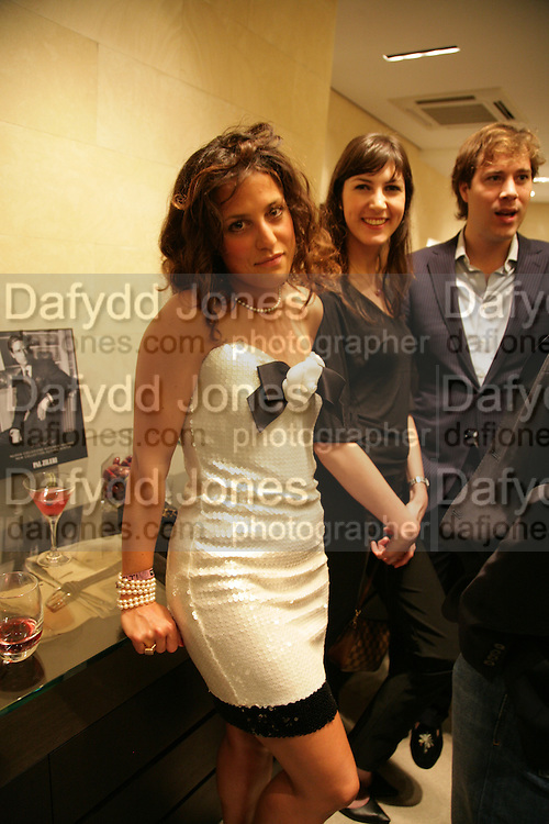 TATINA DE MARINIS PAPACHRISTIDIS, VANESSA MARTINELLI, HUD MORGAN . De Grisogono &amp; Londino Car Rally  party. <br />