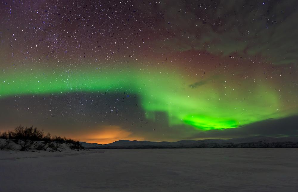 Lake Torneträsk 10:10 PM