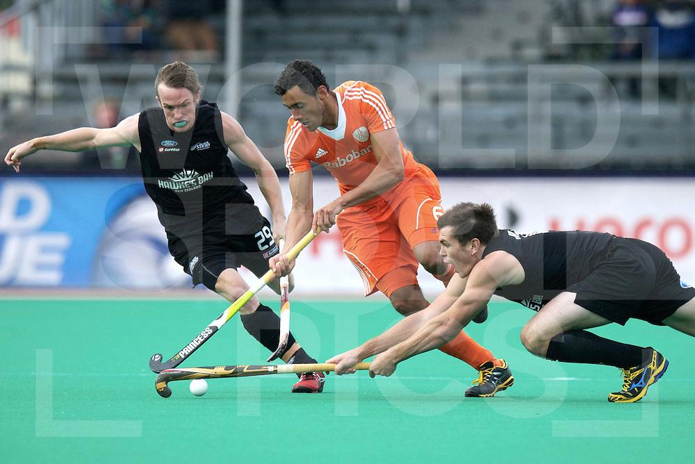 ROTTERDAM - Hock World League Semi Final Men<br /> Netherlands v New Zealand<br /> foto: <br /> FFU PRESS AGENCY COPYRIGHT FRANK UIJLENBROEK