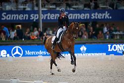 Butler Lara, GBR, Rubin Al Asad<br /> CDI 5* Grand Prix Kur<br /> CHIO Rotterdam 2017<br /> © Dirk Caremans<br /> 24/06/2017
