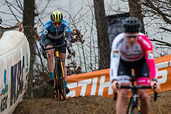 MÕTTUS Mari-Liis (EST) during Women Elite race, 2019 UCI Cyclo-cross World Cup Heusden-Zolder, Belgium, 26 December 2019.<br /> <br /> Photo by Pim Nijland / PelotonPhotos.com <br /> <br /> All photos usage must carry mandatory copyright credit (Peloton Photos | Pim Nijland)