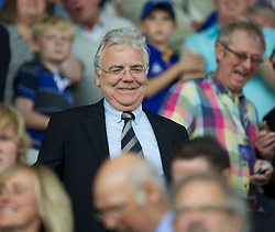 LIVERPOOL, ENGLAND - Saturday, October 1, 2011: Everton's chairman and owner Bill Kenwright during the Premiership match against Liverpool at Goodison Park. (Pic by David Rawcliffe/Propaganda)