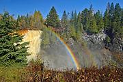 Kakabeka Falls on the Kaministiquia River <br />Kakabeka Falls Provincial Park<br />Ontario<br />Canada