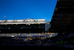 General View as the sun sets - Rogan Thomson/JMP - 15/08/2016 - FOOTBALL - Stamford Bridge Stadium - London, England - Chelsea v West Ham United - Premier League Opening Weekend.