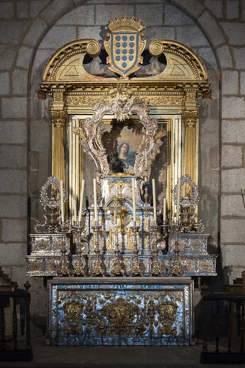 Renaissance chapel in Roman Catholic Cathedral of Avila, Cathedral de Avila, Spain