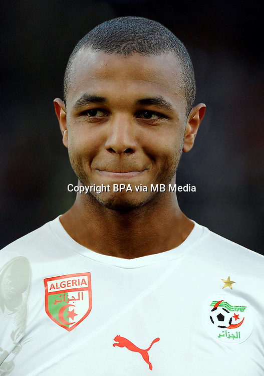 Football Fifa Brazil 2014 World Cup / <br /> Algeria National Team - <br /> Yacine Brahimi  of Algeria