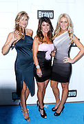 Alexis Bellino, Lynne Curtain and Gretchen Rossi attend the 2010 Bravo Media Upfront Party at Skylight Studios in New York City on March 10, 2010