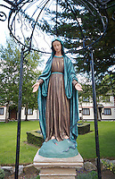 Religious Statue of Virgin Mary in Dalkey Village, Dublin, Ireland