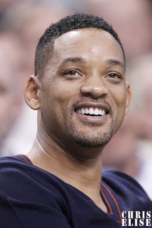 21 May 2012: Will Smith is seen during the Boston Celtics 101-85 victory over the Philadelphia Sixer, in Game 5 of the Eastern Conference semifinals playoff series, at the TD Banknorth Garden, Boston, Massachusetts, USA.