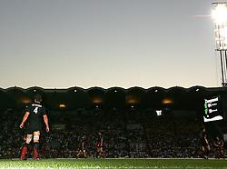 Fabien Pelous plays his last game for Toulouse. Stade Toulousain v Clermont Auvergne, Top 14 Semi-Final, Bordeaux, France, 28th May 2009.
