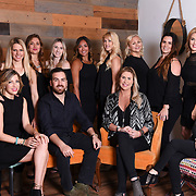 Ashen Salon La Jolla Group Portraiture 2017