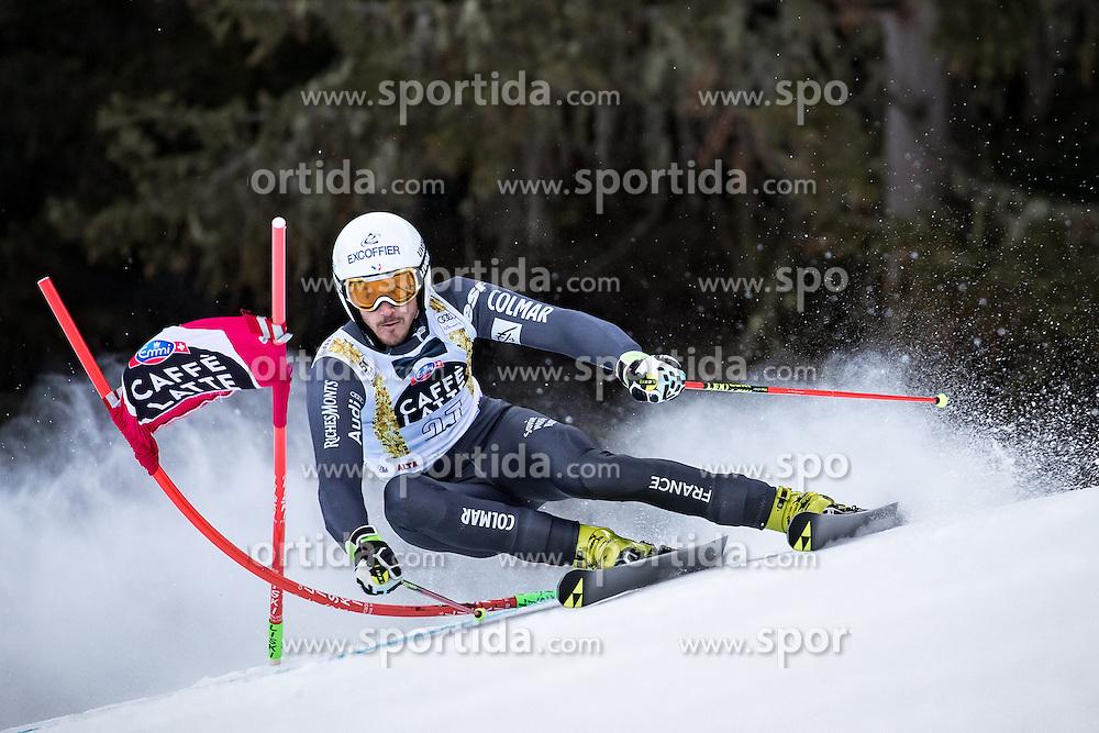 19.12.2016, Grand Risa, La Villa, ITA, FIS Ski Weltcup, Alta Badia, Riesenslalom, Herren, 1. Lauf, im Bild Steve Missillier (FRA) // Steve Missillier of France in action during 1st run of men's Giant Slalom of FIS ski alpine world cup at the Grand Risa race Course in La Villa, Italy on 2016/12/19. EXPA Pictures © 2016, PhotoCredit: EXPA/ Johann Groder