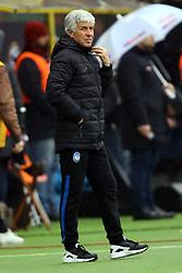 """Foto Filippo Rubin<br /> 11/03/2018 Bologna (Italia)<br /> Sport Calcio<br /> Bologna - Atalanta - Campionato di calcio Serie A 2017/2018 - Stadio """"Renato Dall'Ara""""<br /> Nella foto: GIAN PIERO GASPERINI (ALLENATORE ATALANTA)<br /> <br /> Photo by Filippo Rubin<br /> March 11, 2018 Bologna (Italy)<br /> Sport Soccer<br /> Bologna vs Atalanta - Italian Football Championship League A 2017/2018 - """"Renato Dall'Ara"""" Stadium <br /> In the pic: GIAN PIERO GASPERINI (ATALANTA'S TRAINER)"""