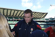 Twickenham, GREAT BRITAIN, Phil VICKERY, England Training session, Tue 23.01.2007 RFU Stadium, England. Photo, Peter Spurrier/Intersport-images]