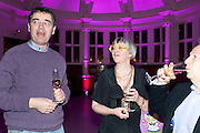 PHILLIPA PERRY, Grayson Perry 50th birthday party. Finsbury Town Hall. London. 26 March 2010