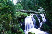 The Triberg Waterfalls in the Black Forest, Germany