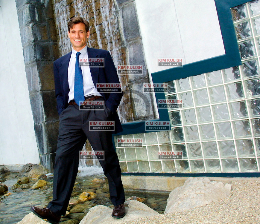 Steven Romick, C.F.A. pictured 10-30-01 in Los Angeles, California. Steven Romick is  currently the  manager of the FPA Crescent Fund.