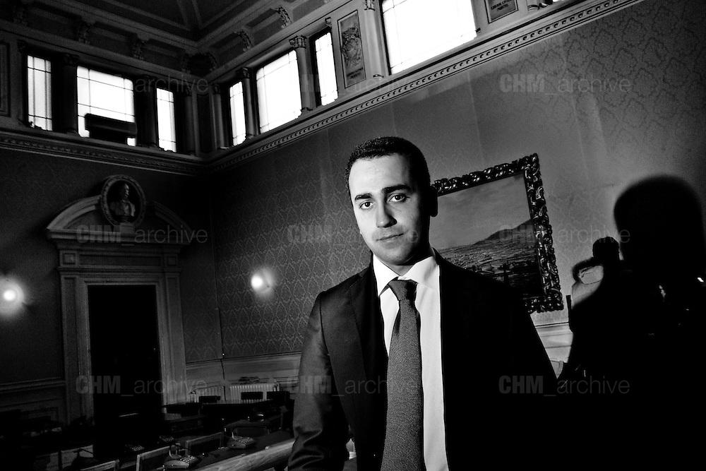 Luigi Di Maio. <br /> 22 febbraio  2015 . Daniele Stefanini /  OneShot