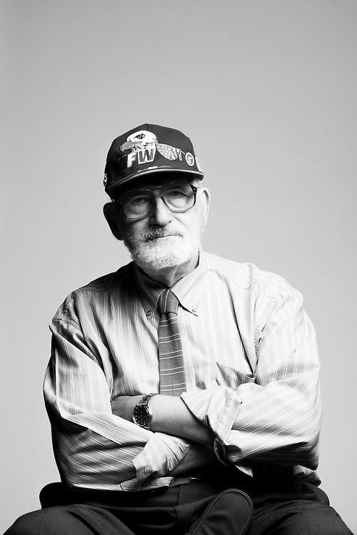 John P. Laplante<br /> Air Force<br /> E-3<br /> 1950 - 1955<br /> Korea<br /> <br /> Veterans Portrait Project<br /> St. Louis, MO