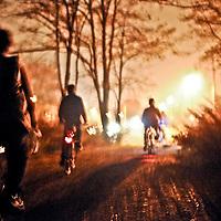 Group bike ride around Staten Island